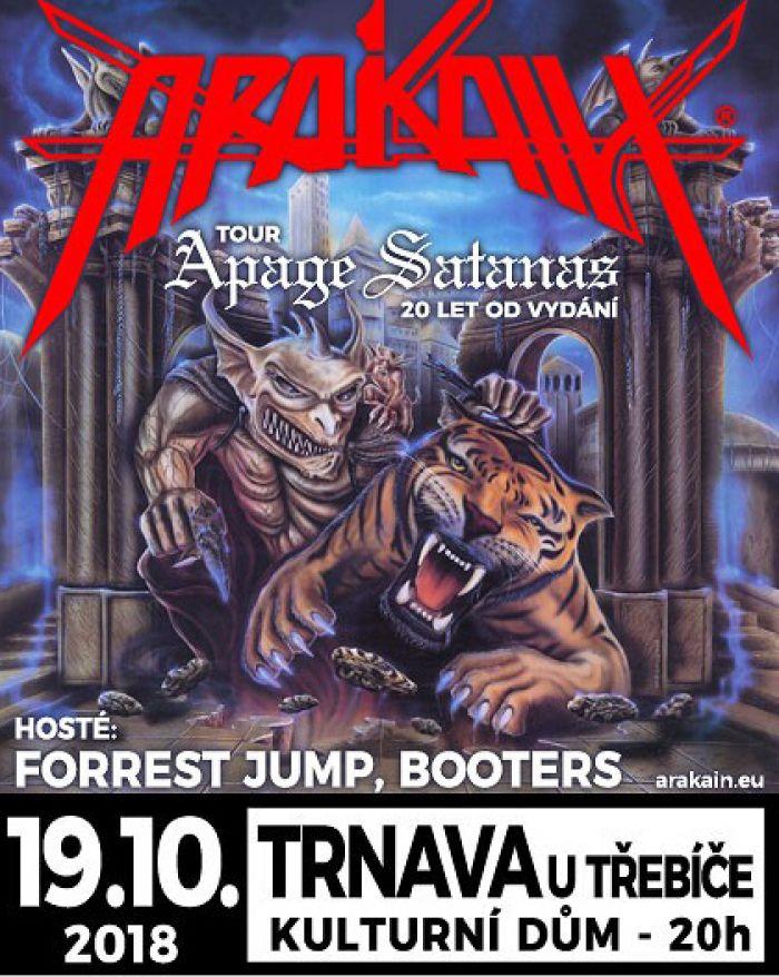 19.10.2018 - ARAKAIN - Best of tour 2018 / Trnava u Třebíče