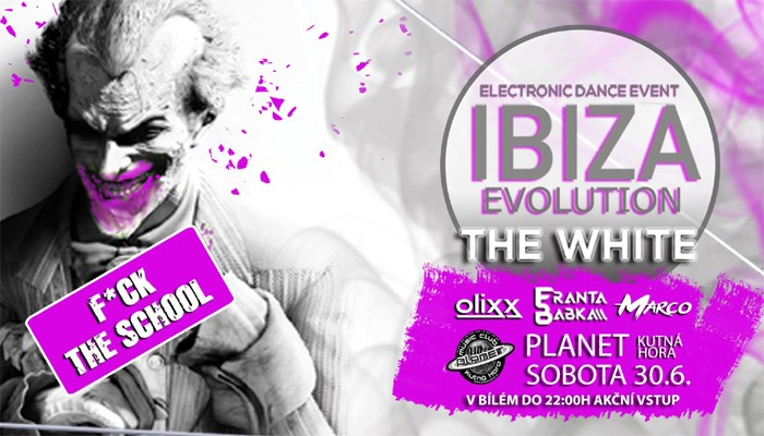 30.06.2018 - IBIZA Evolution WHITE - Kutná Hora
