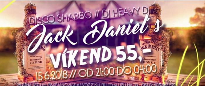 15.06.2018 - Páteční párty s Jack Daniels Honey - Uhlířské Janovice