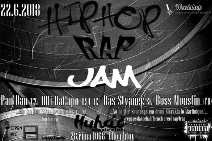 Hip Hop Rap Jam ( with international guests ) - Chomutov