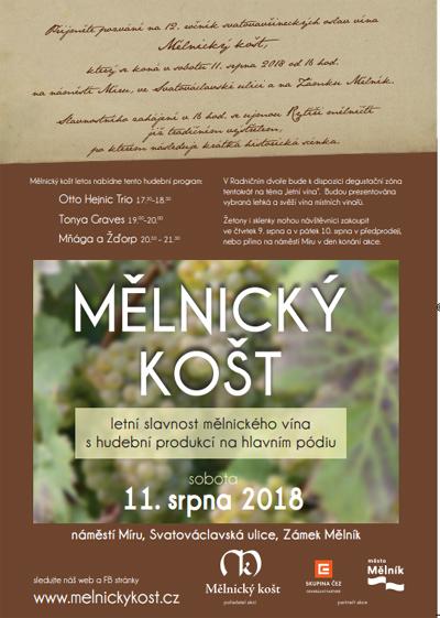 11.08.2018 - Mělnický košt 2018