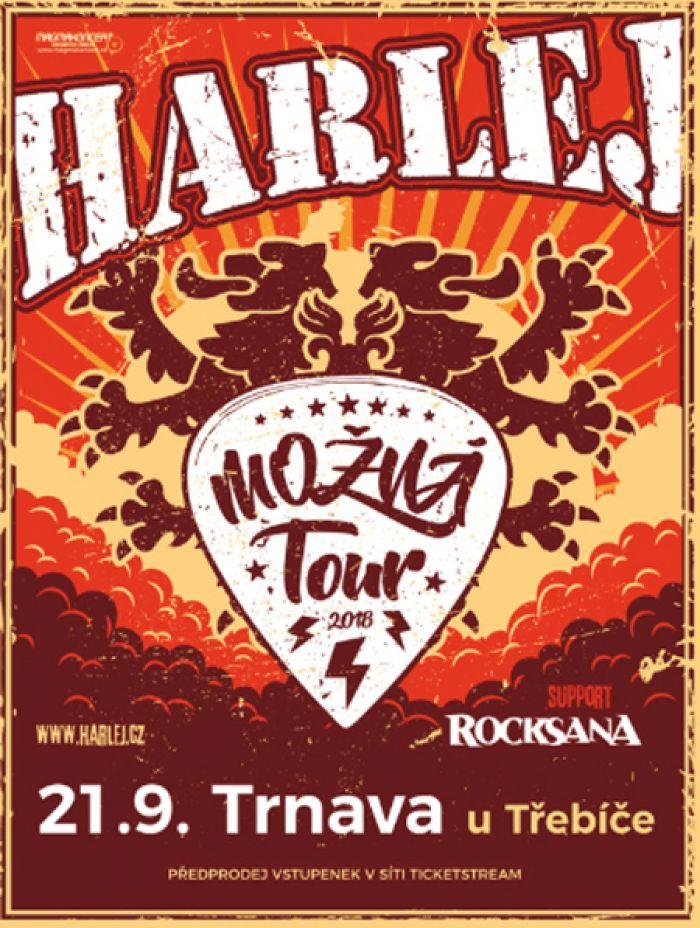 HARLEJ - Možná Tour 2018 / Trnava u Třebíče