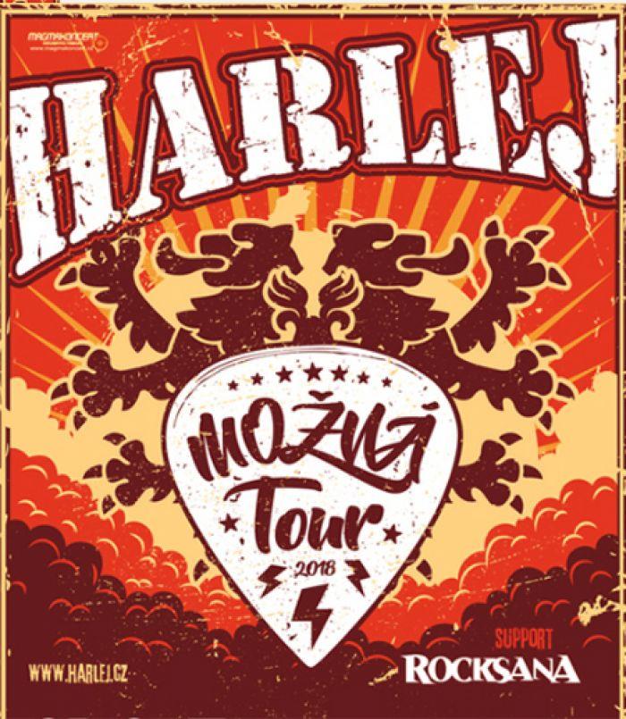 HARLEJ - Možná Tour 2018 / Křesetice