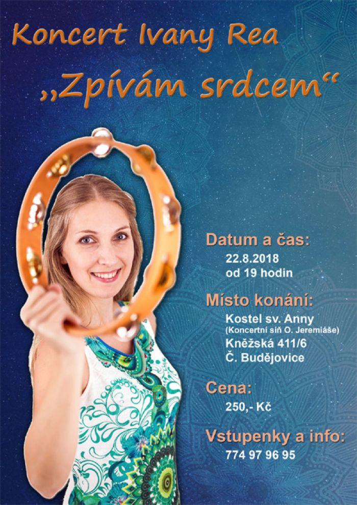 Ivana Rea: Zpívám srdcem - Koncert / České Budějovice