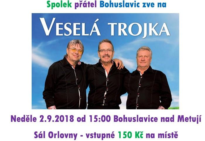 Veselá Trojka Pavla Kršky - Bohuslavice nad Metují