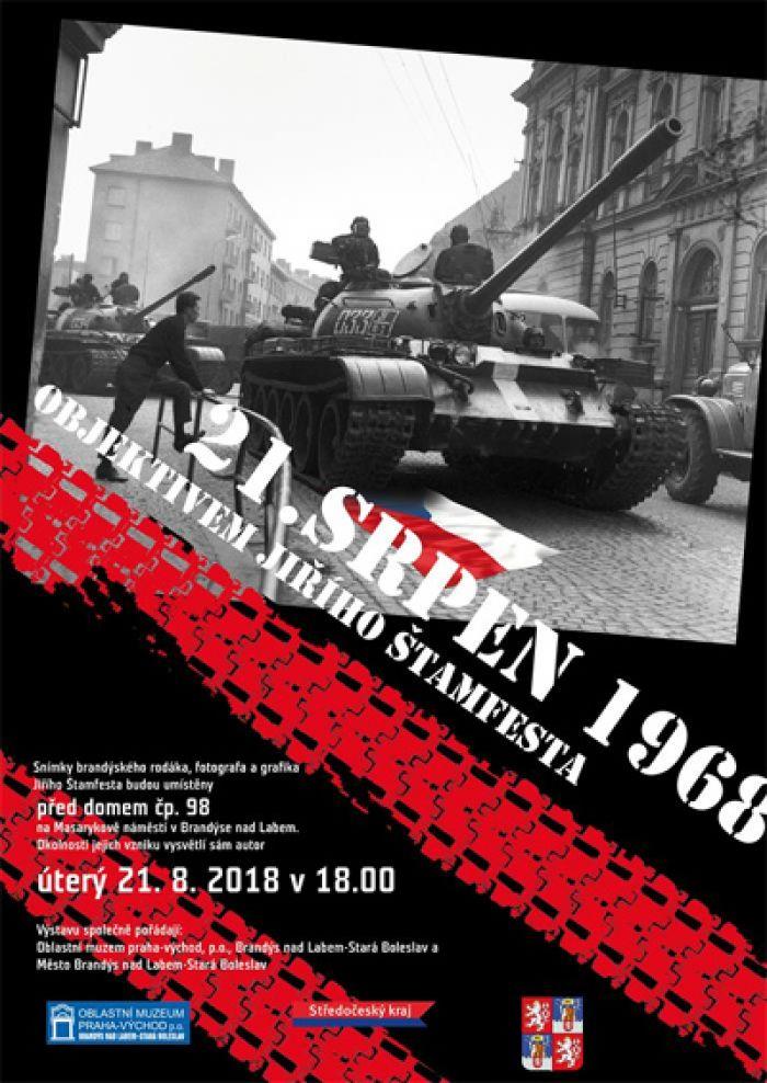 21. srpen 1968 - Výstava / Brandýs nad Labem