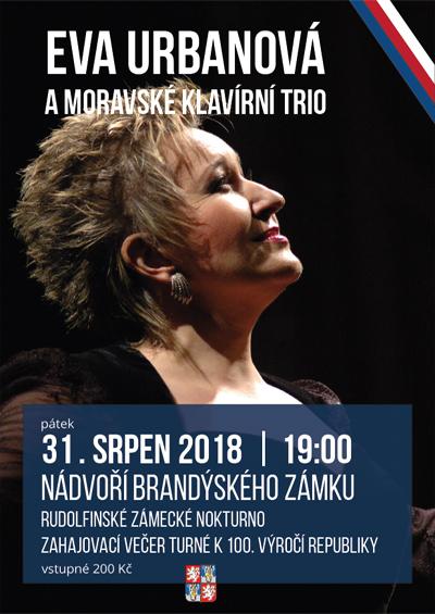 Eva Urbanová a moravské klavírní trio / Brandýs nad Labem