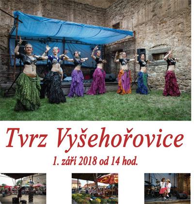 Slavnost na tvrzi 2018 - Vyšehořivice