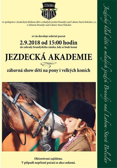 Jezdecká akademie / Brandýs nad Labem
