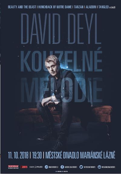 11.10.2018 - David Deyl - Kouzelné melodie / Mariánské Lázně
