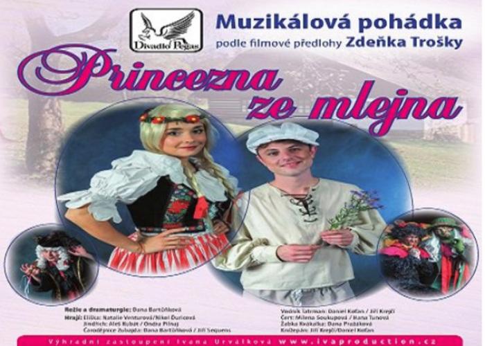 PRINCEZNA ZE MLEJNA - Divadlo / Neratovice