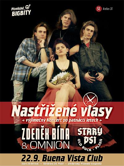 Nastřižené vlasy - Koncert po 15letech / Plzeň