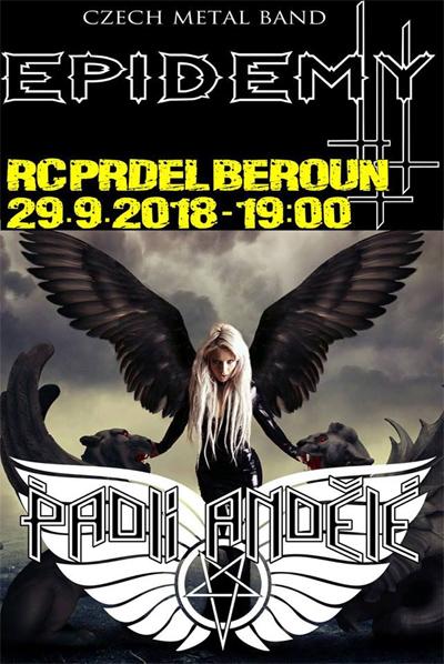 Epidemy + Padlí Andělé - Koncert / Beroun