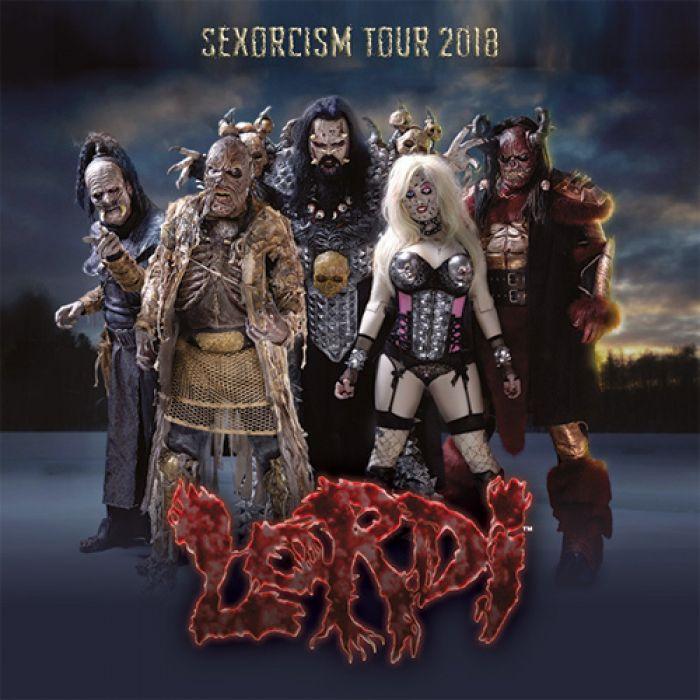 09.11.2018 - Lordi - Sexorcism Tour / Zlín