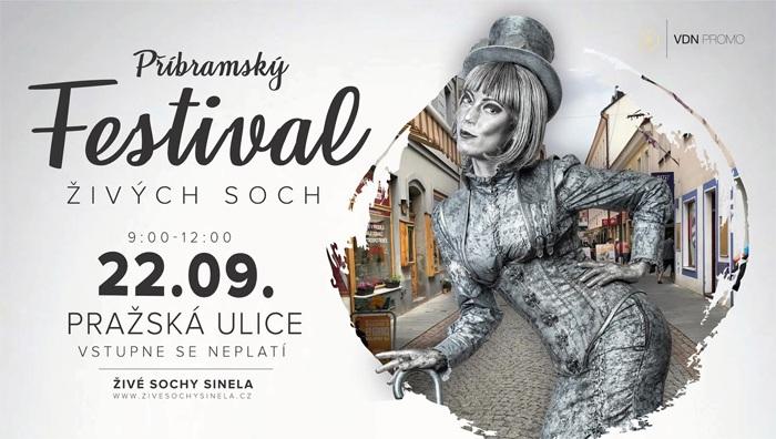 Festival živých soch - Příbram
