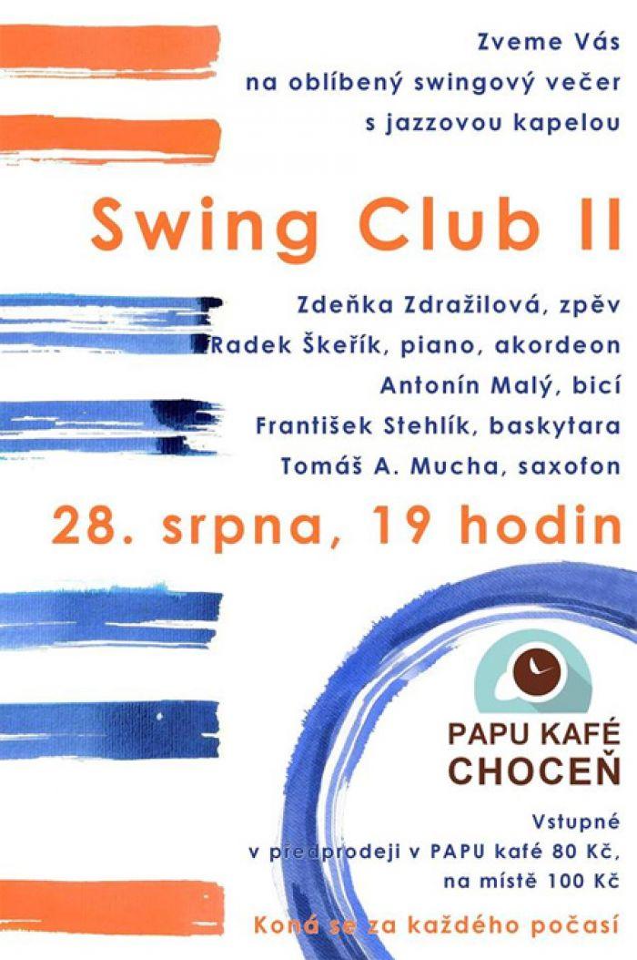 Swing Club II - Hudební večer / Choceň
