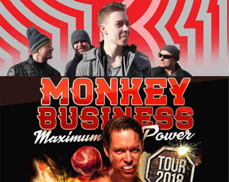 13.10.2018 - MONKEY BUSINESS - Koncert / Třebíč