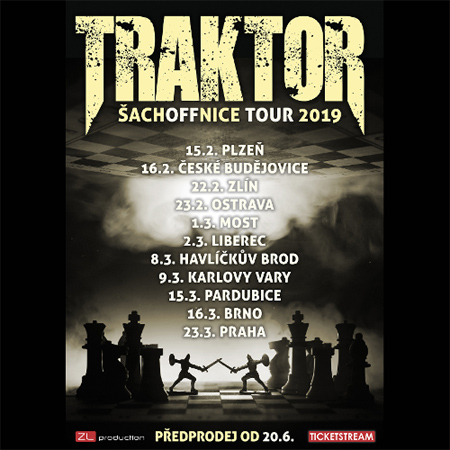 01.03.2019 - Traktor - Šachoffnice Tour / Most