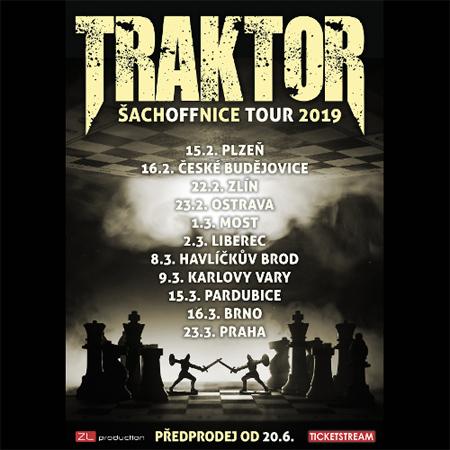 Traktor - Šachoffnice Tour / Praha