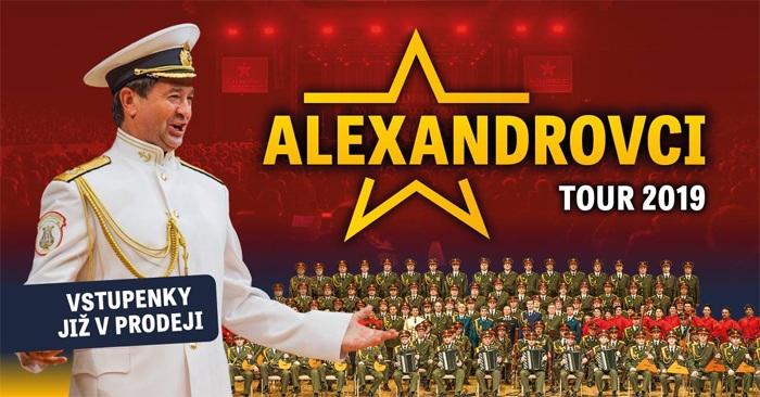 Alexandrovci - European Tour 2019 / Ostrava