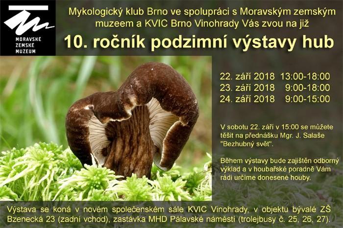 22.09.2018 - Výstava hub v Brně