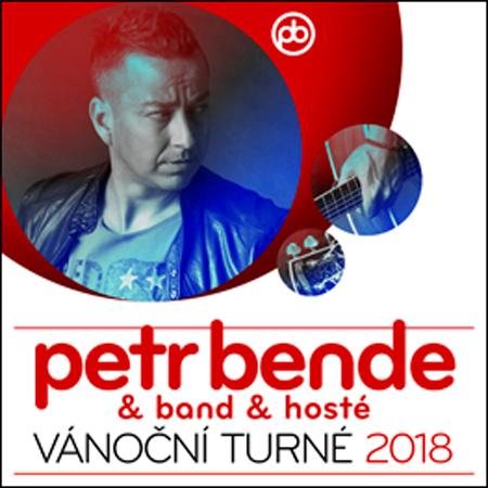 11.12.2018 - PETR BENDE & band - Vánoční turné 2018 / Třebíč