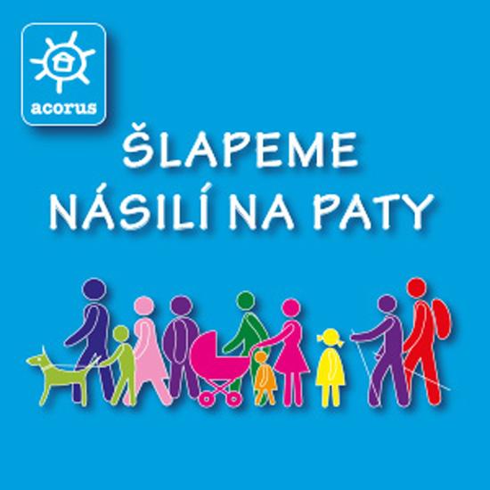 Šlapeme násilí na paty - charitativní pochod / Praha 6