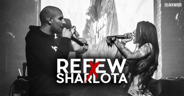 Refew x Sharlota  - support: Psycho Rhyme / Benešov