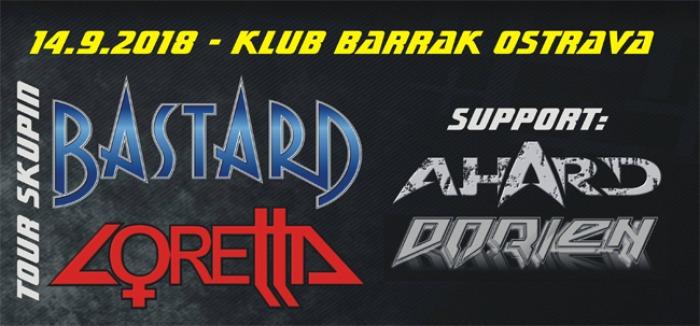 Bastard a Loretta tour 2018 - Olomouc