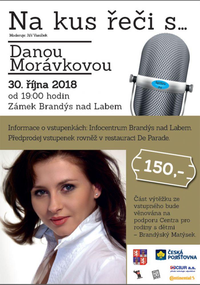 Na kus řeči s... Danou Morávkovou / Brandýs nad Labem
