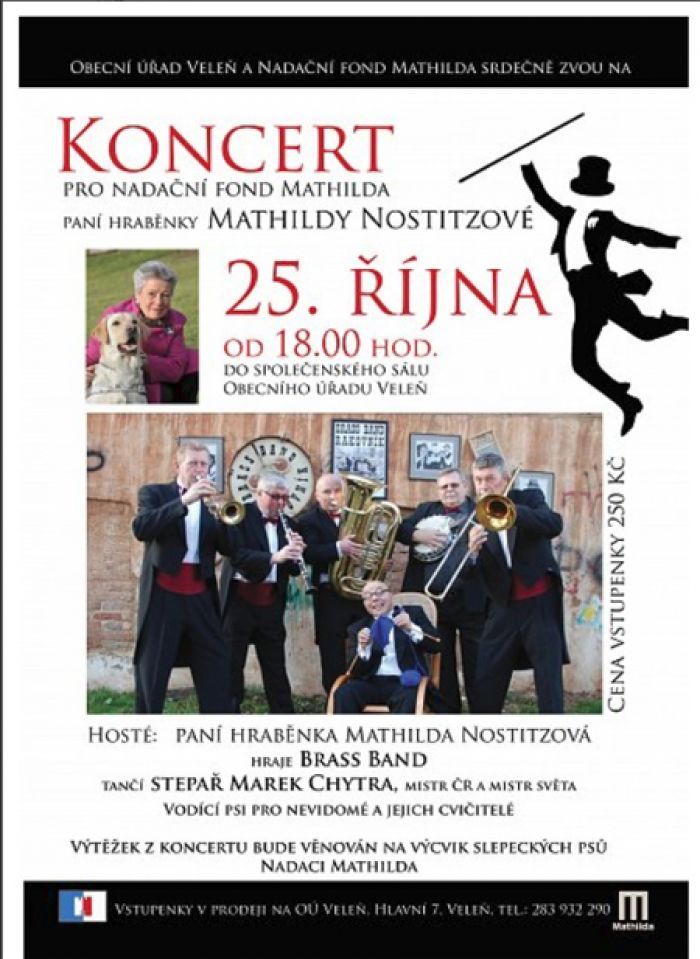 BRASS BAND - Koncert pro nadaci Mathilda / Veleň