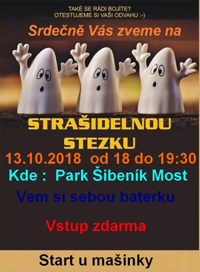 13.10.2018 - Strašidelná Stezka - Pro děti / Most
