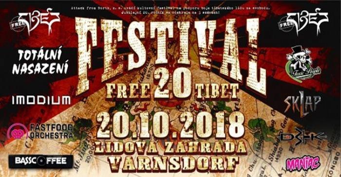 20.10.2018 - Festival free Tibet 20 - Varnsdorf