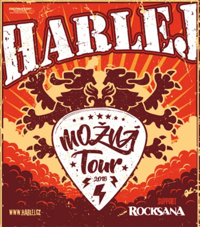 HARLEJ - Možná Tour 2018 / Prachatice