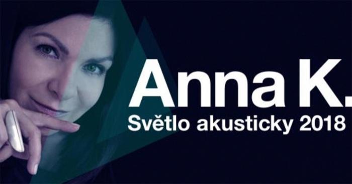 ANNA K. - Světlo akusticky tour 2018 / Hranice na Moravě