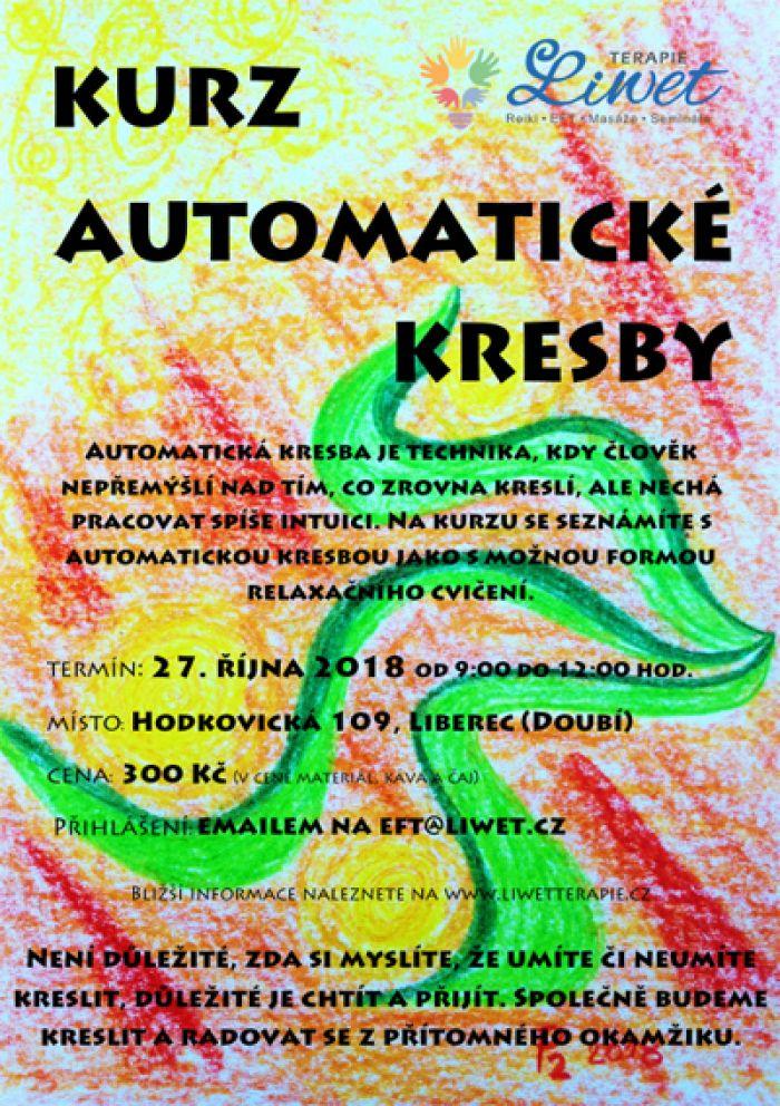 27.10.2018 - Kurz automatické kresby - Liberec
