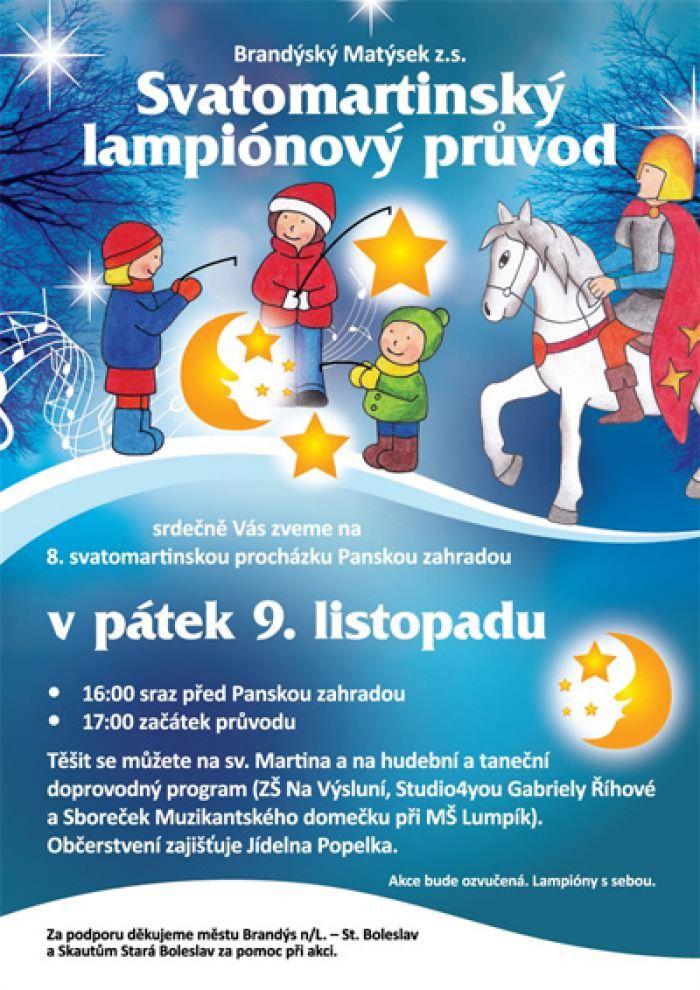09.11.2018 - Svatomartinský lampionový průvod / Brandýs nad Labem