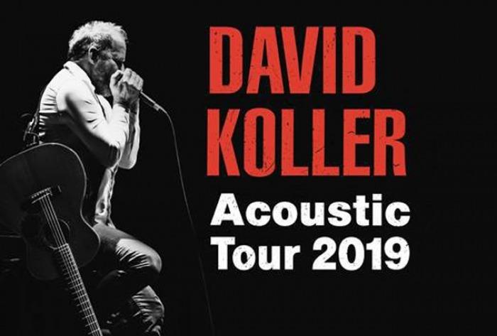 17.02.2019 - David Koller Acoustic Tour 2019 - Pardubice