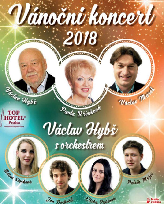 06.12.2018 - Vánoční koncert Václava Hybše - Kyjov