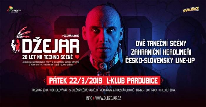 Džejár slaví 20. narozeniny - Pardubice