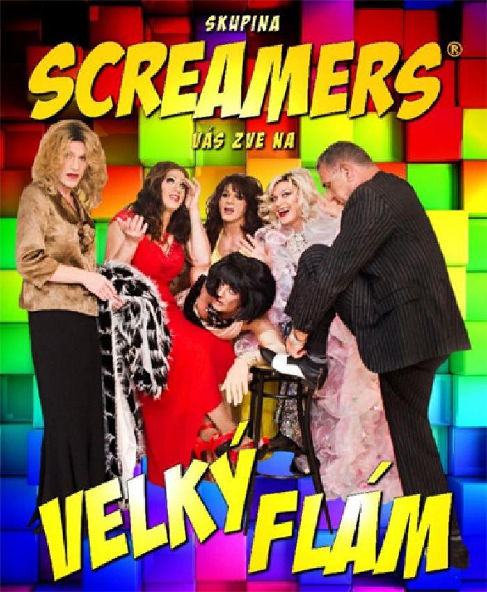 12.02.2019 -  Screamers - VELKÝ FLÁM / Hlinsko
