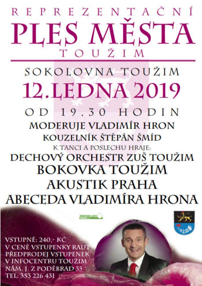 12.01.2019 - Reprezentační ples města Toužim