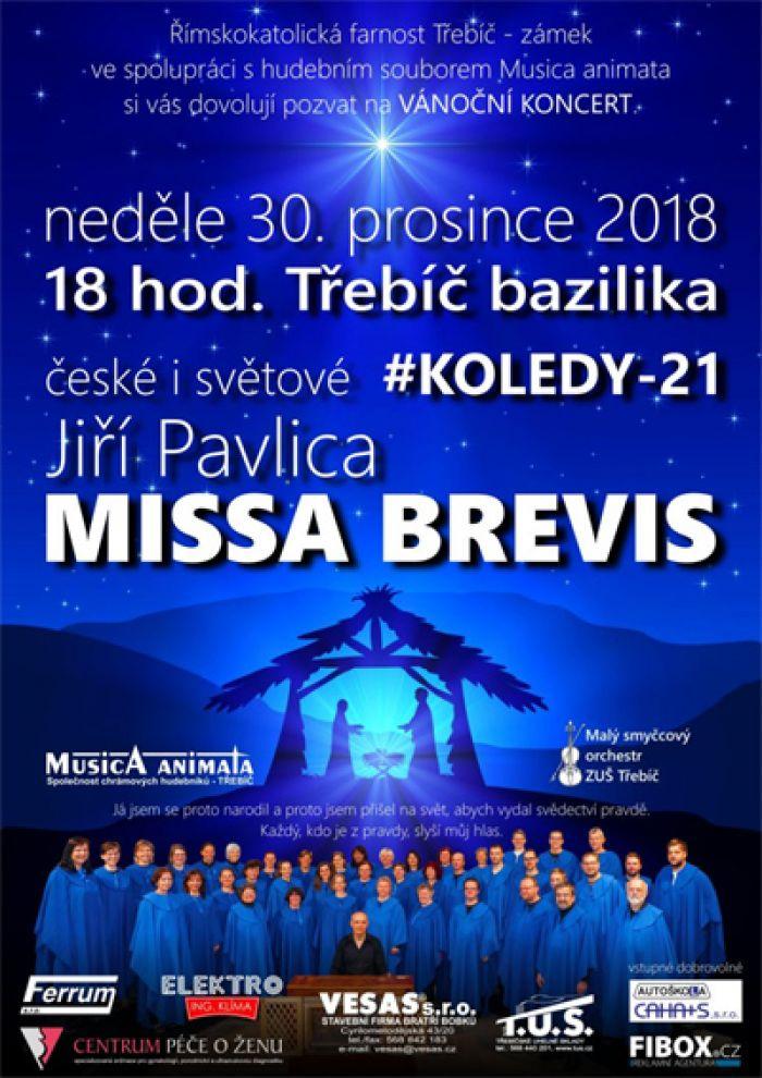 30.12.2018 - Musica animata - Vánoční koncert  / Třebíč