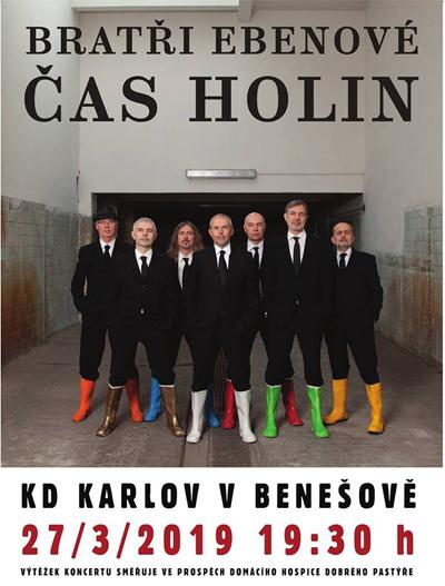 Bratři Ebenové - Čas holin / Benešov