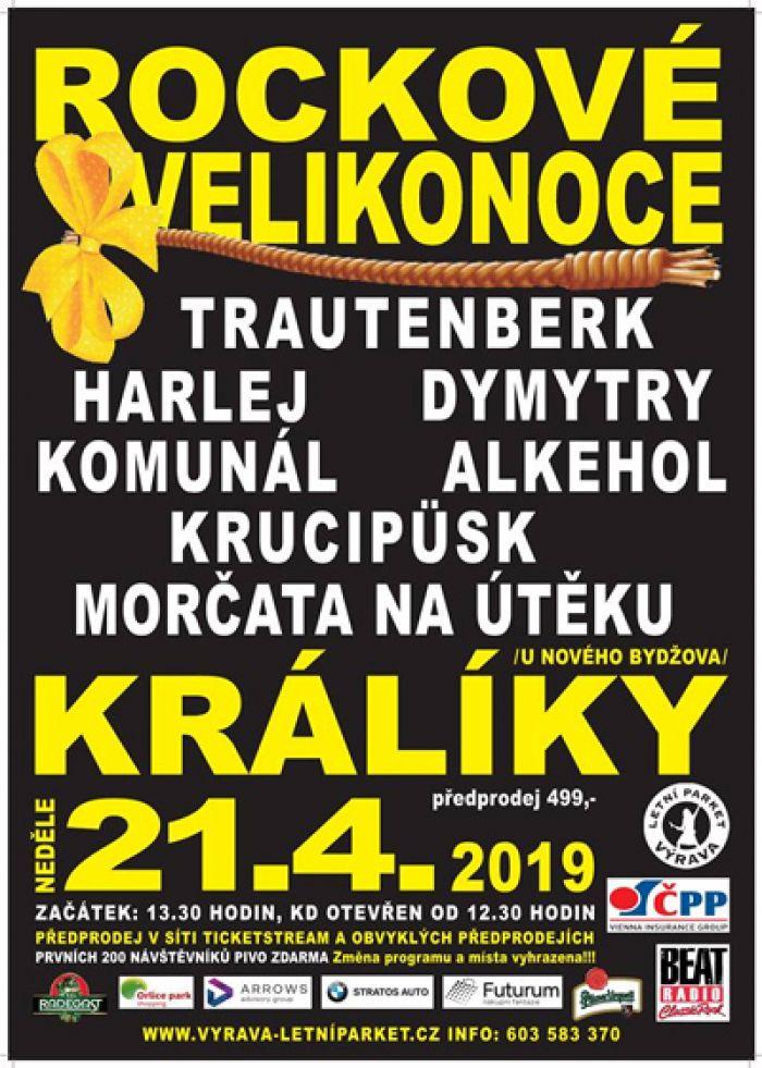 21.04.2019 - Rockové velikonoce 2019 - Králíky