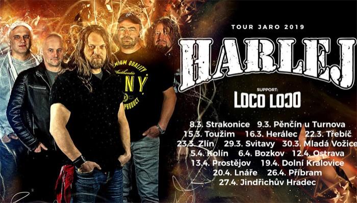 HARLEJ - Tour jaro 2019 / Jindřichův Hradec
