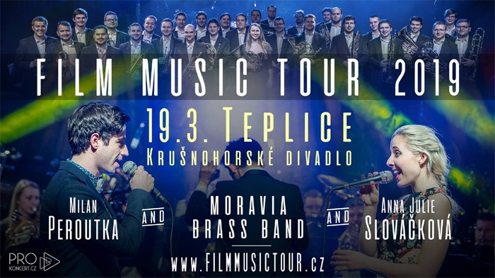 19.03.2019 - FILM MUSIC TOUR 2019 / Teplice