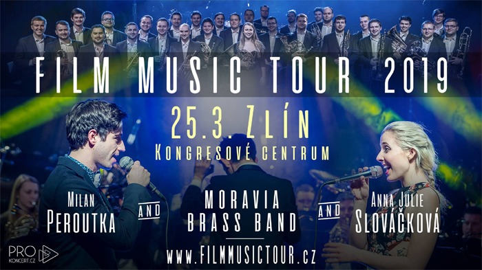 25.03.2019 - FILM MUSIC TOUR 2019 / Zlín