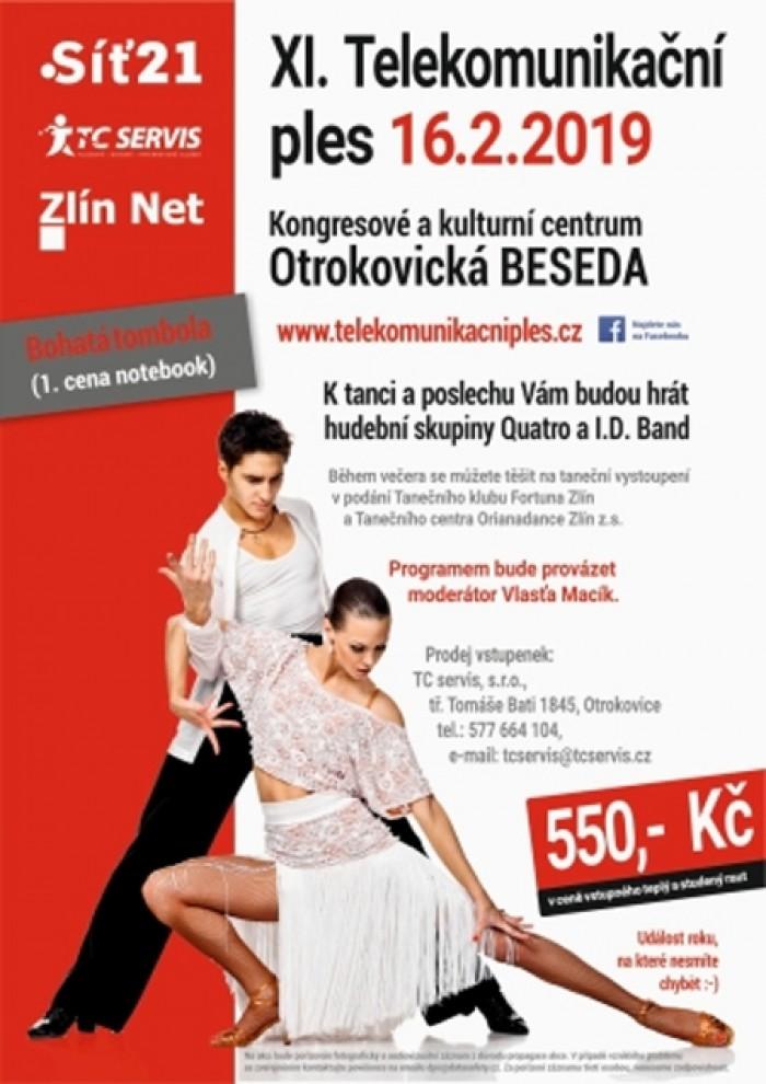 16.02.2019 - XI. Telekomunikační ples - Otrokovice