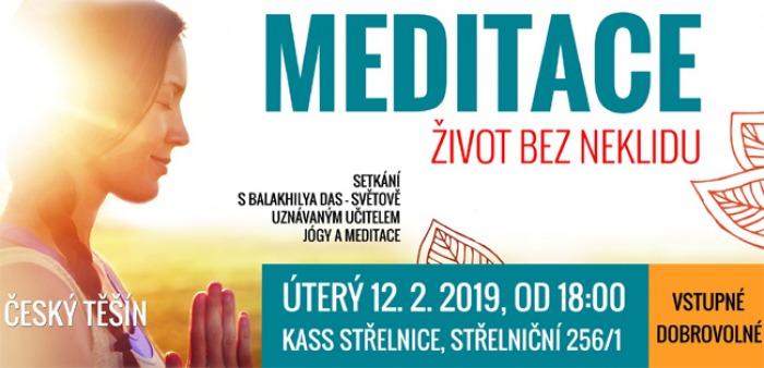 12.02.2019 - Meditace - Život bez neklidu / Český Těšín